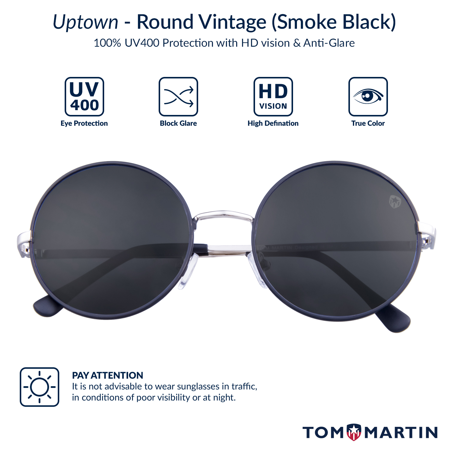 a1dface56 Buy Mens Uptown Silver Vintage Sunglasses Online At Best Price In India