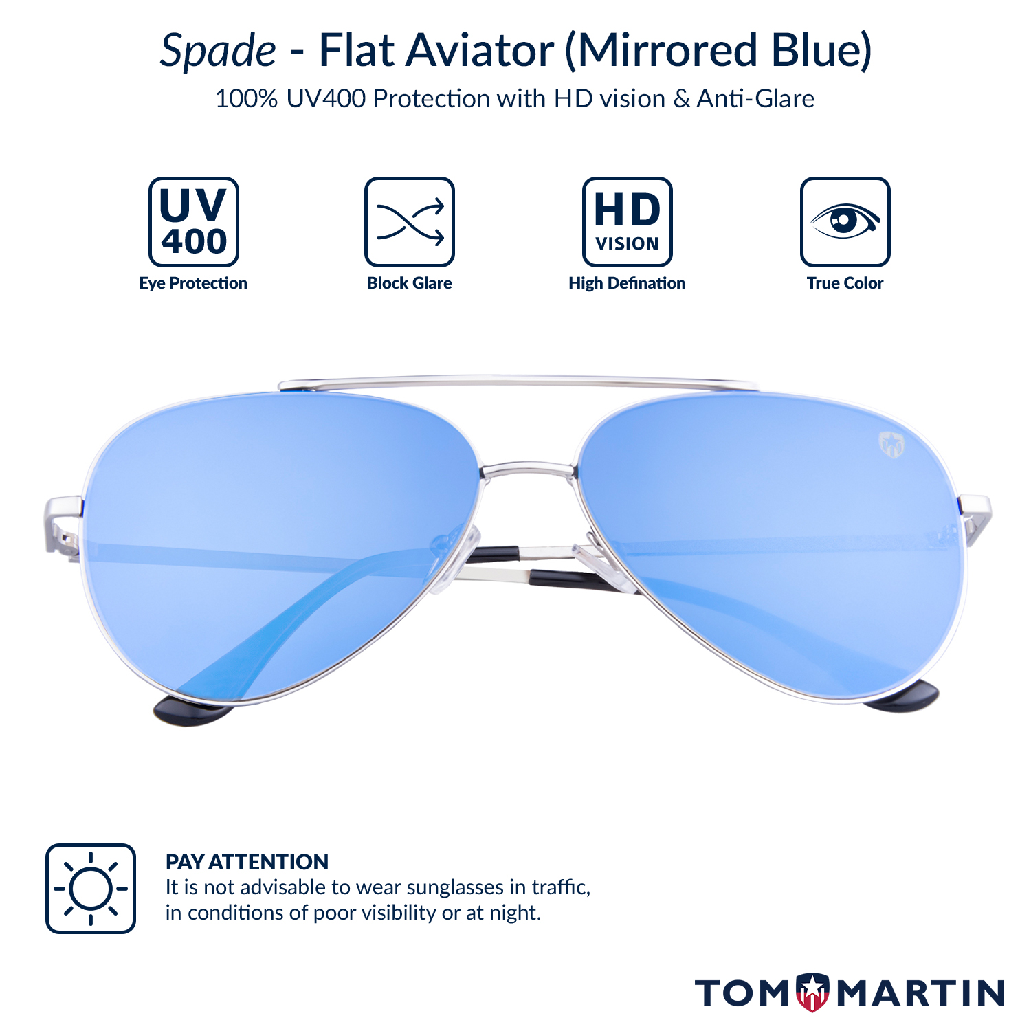 3623a7909 Buy Mens Spade Blue Sunglasses Online At Best Price India